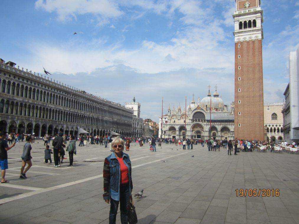 Италия. Венеция. Площадь Сан-Марко