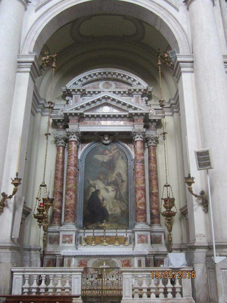 Венеция. Chiesa dei Gesuati o Santa Maria del Rosario