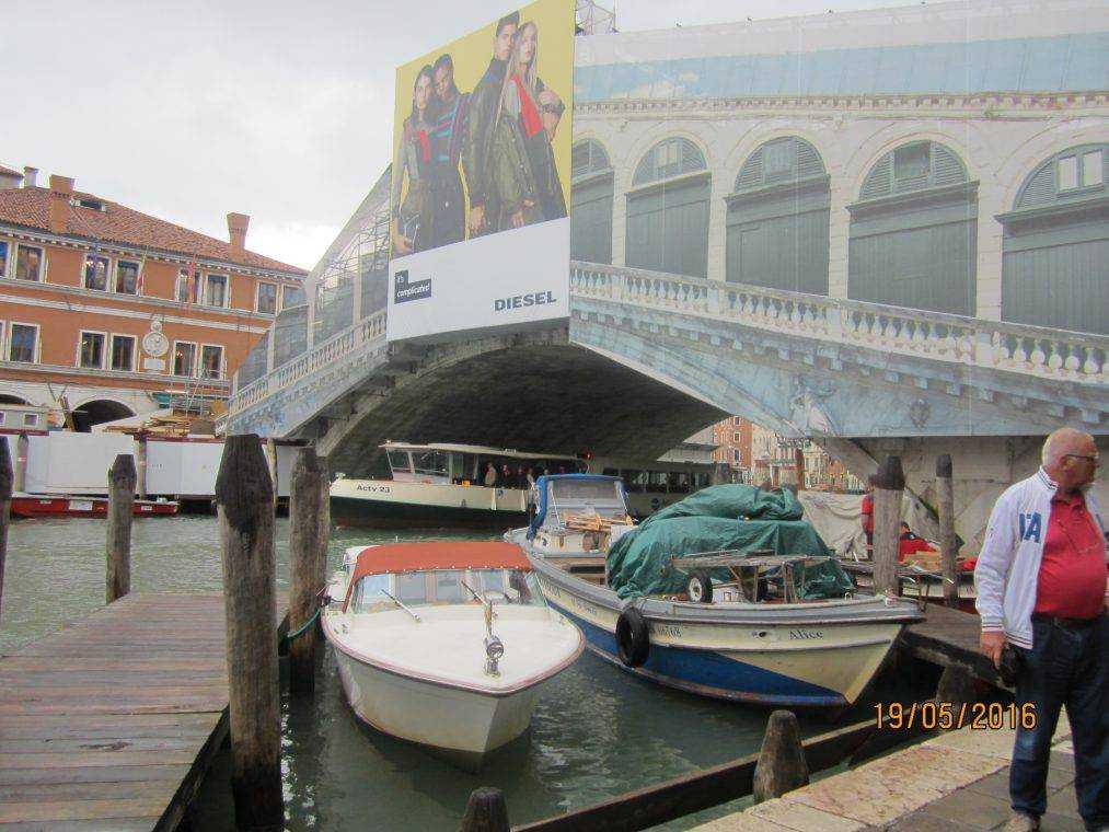 Венеция самостоятельно. Мост Риальто