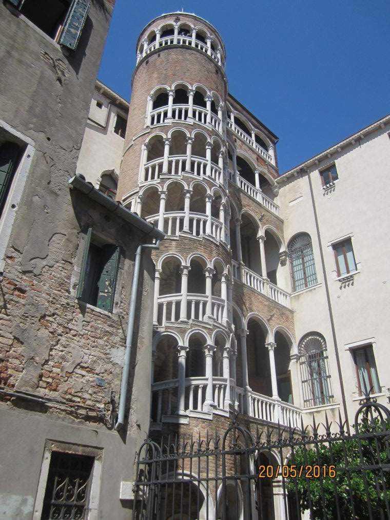Венеция. Scala Contarini del Bovolo