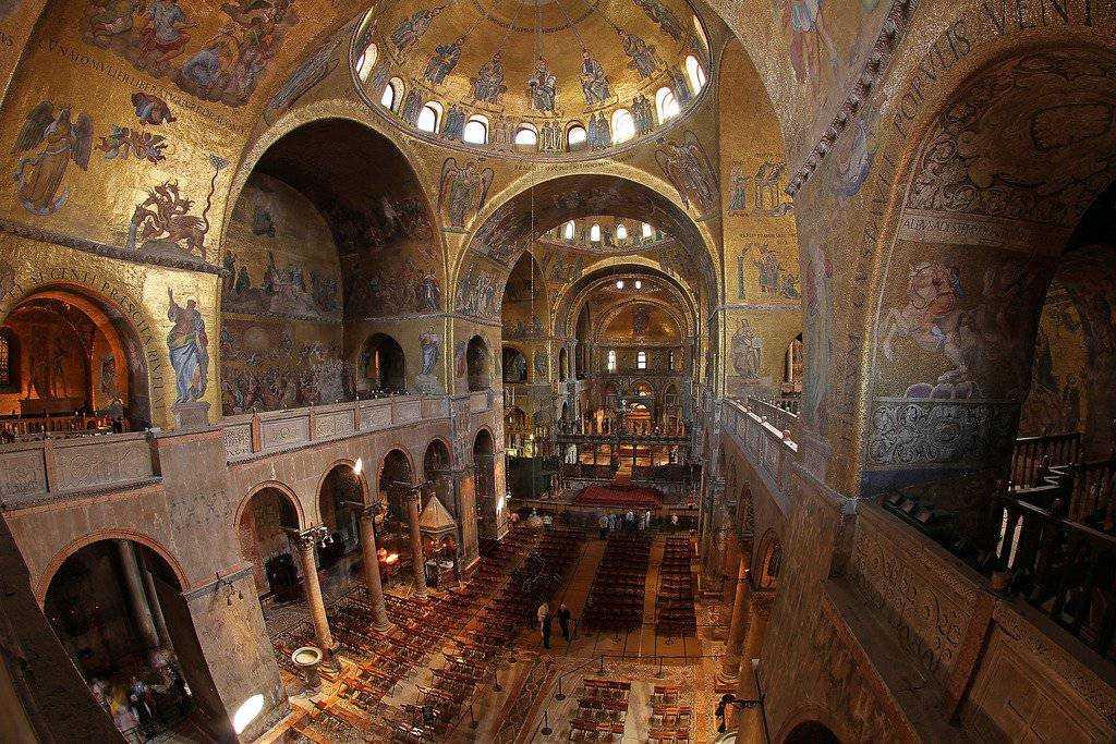 Basilica di San Marco, interer