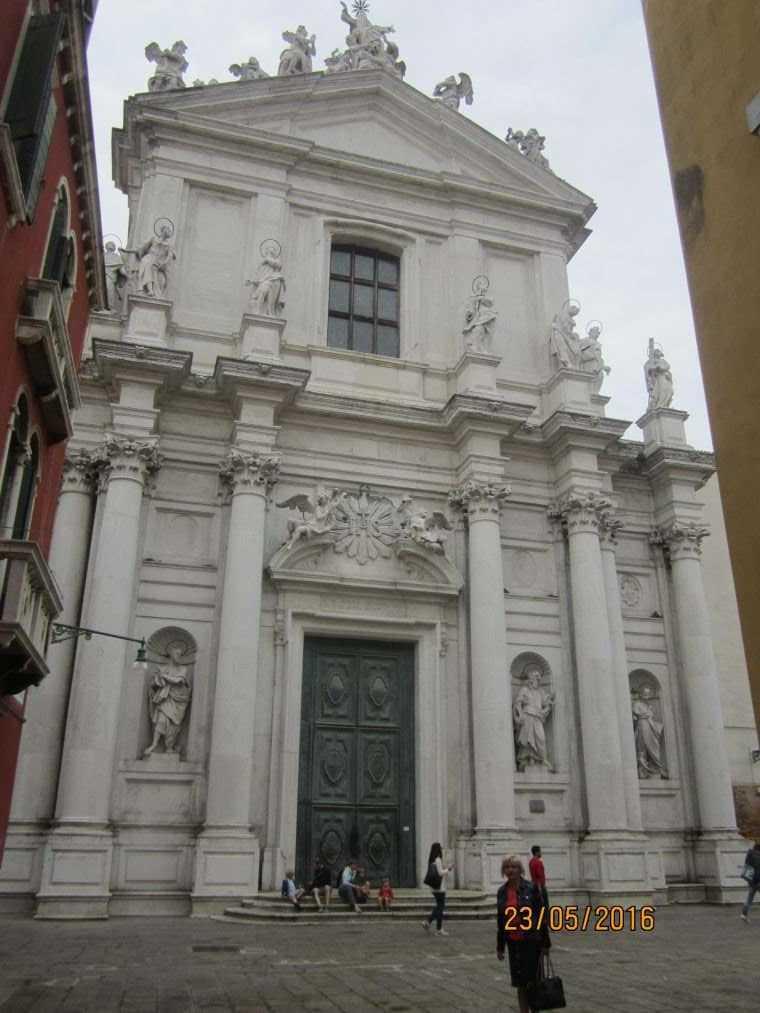 Церковь Джезуити, Санта-мария Ассунта (Gesuiti, Santa Maria Assunta)
