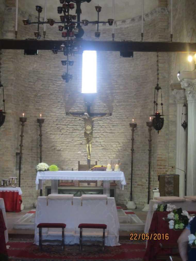 Достопримечательности острова Торчелло. Церковь Santa Fosca