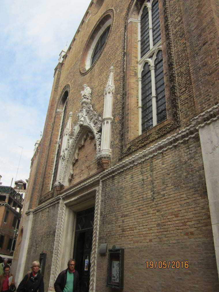 Церковь Санто-Стефано. Венеция
