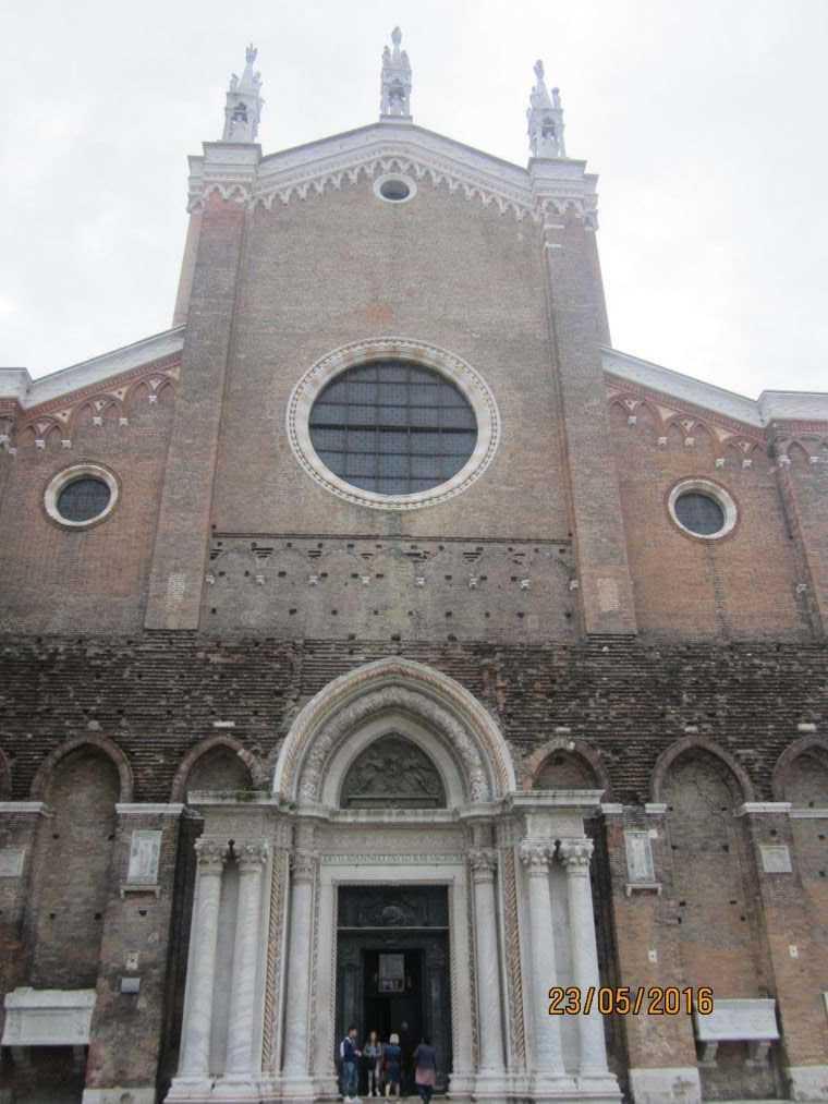 Церкви и базилики Венеции. Basilica dei Santi Giovanni e Paolo (San Zanipolo)