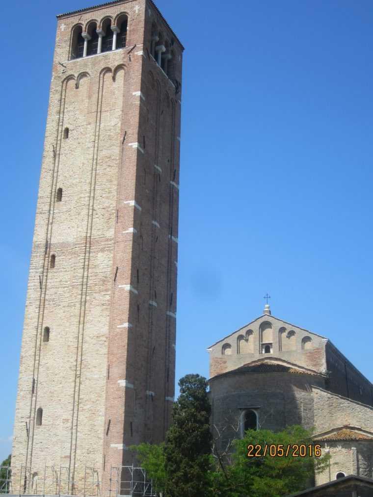 Остров Торчелло. Кампанила Santa Maria Assunta