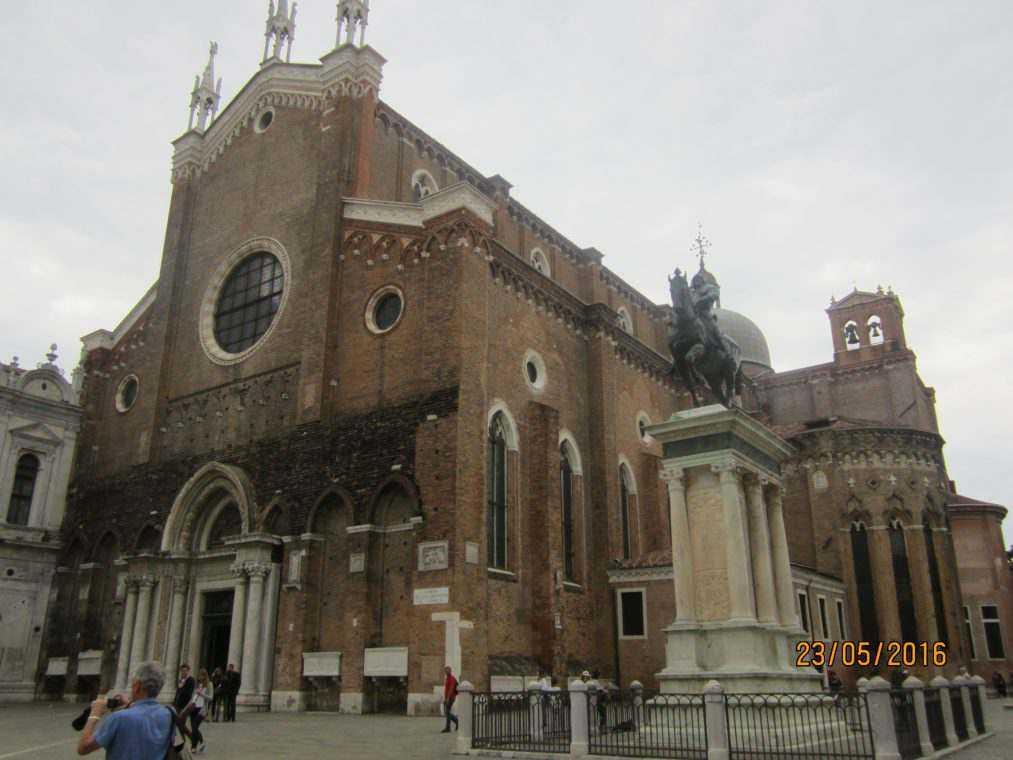Церкви и базилики Венеции. Санти-Джованни э Пауло