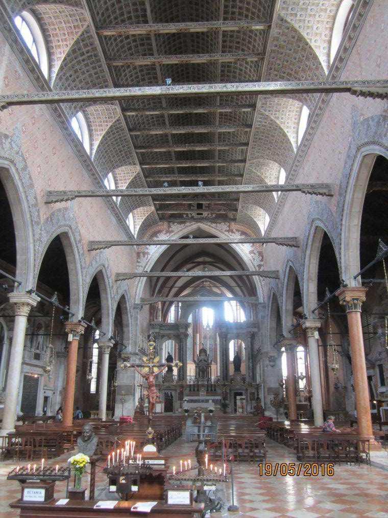 Церковь Санто-Стефано (Chiesa di Santo Stefano). Венеция