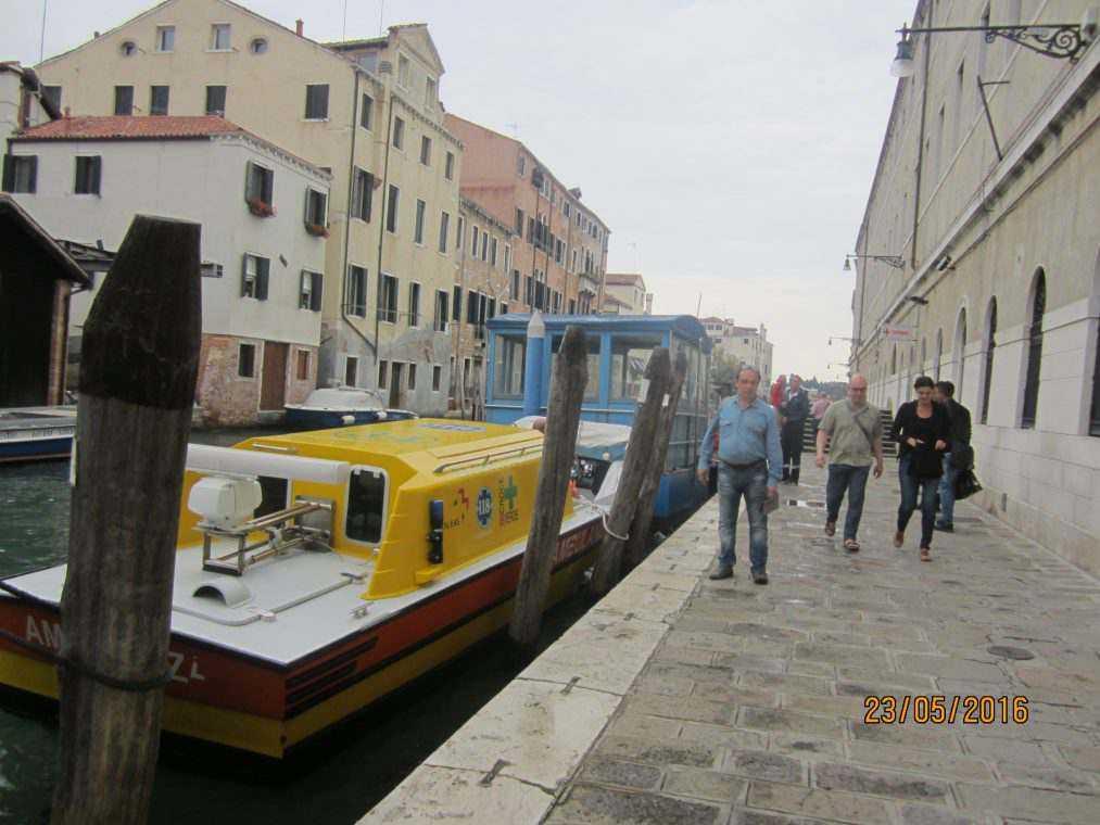 Венеция. Прогулка по району Кастелло