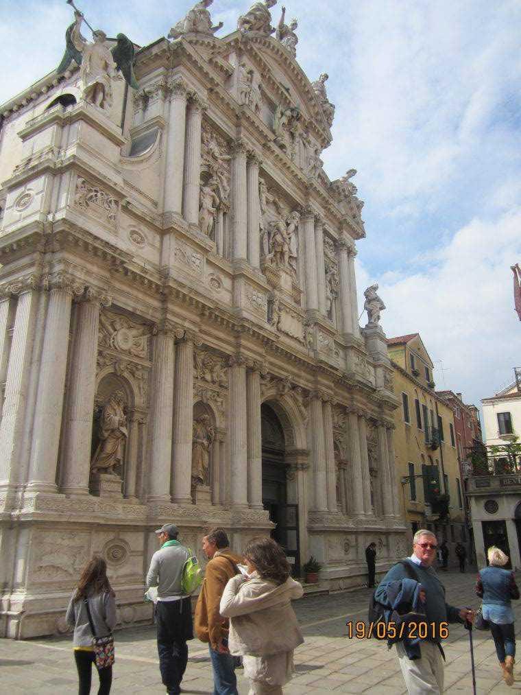 Венеция. Chiesa di Santa Maria del Giglio