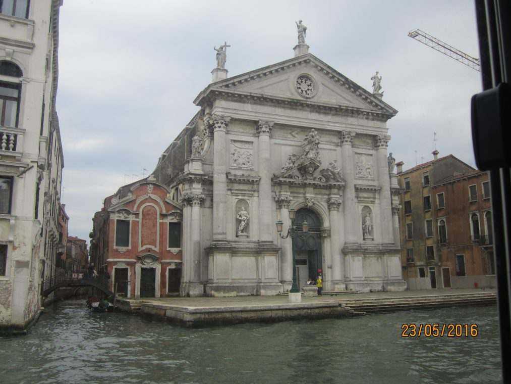 Церкви и базилики Венеции. Chiesa Di San Stae