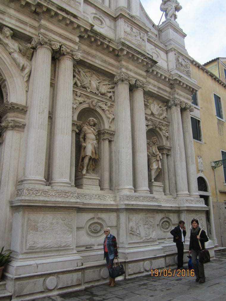 Chiesa di Santa Maria del Giglio. Венеция