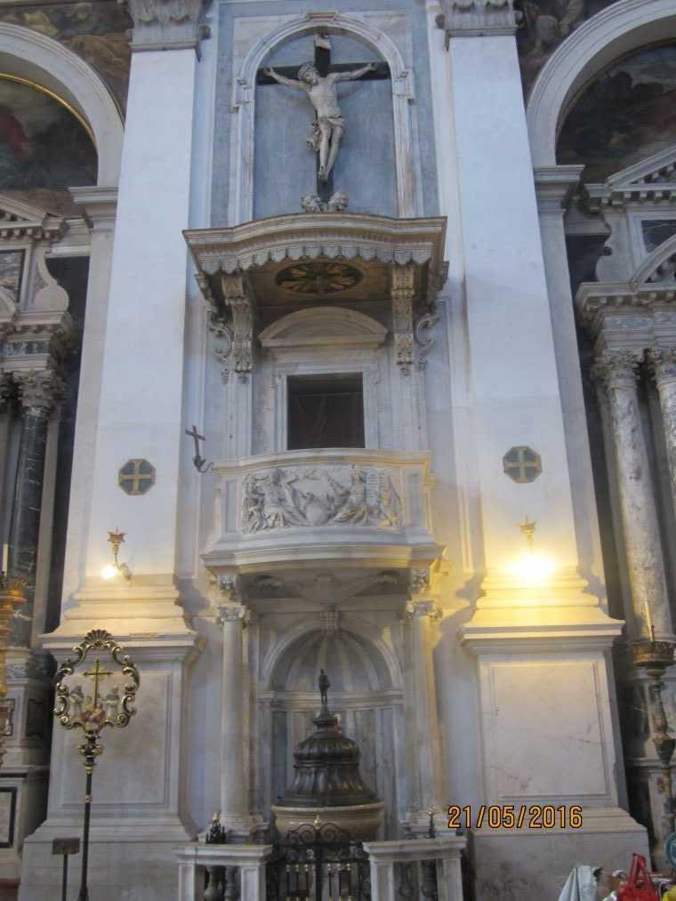Venice. Церковь Сан-Моизе (Chiesa San Moise)