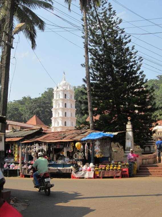 Shanta Durga Temple. Достопримечательности Гоа, Индия