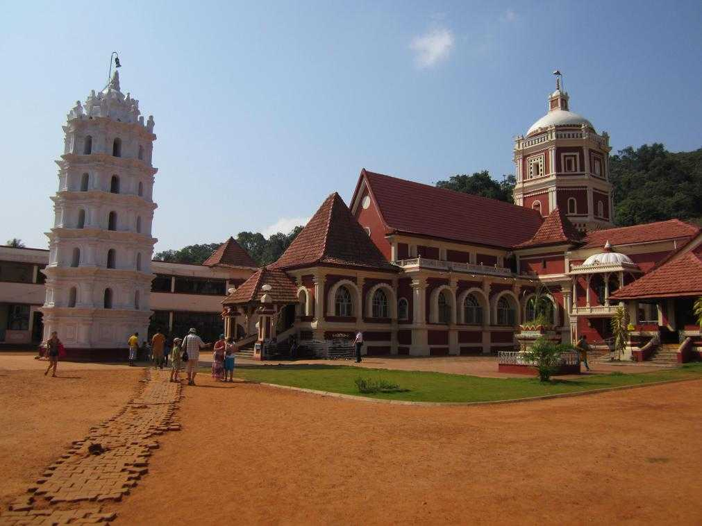 Достопримечательности Гоа, Индия. Shanta Durga Temple