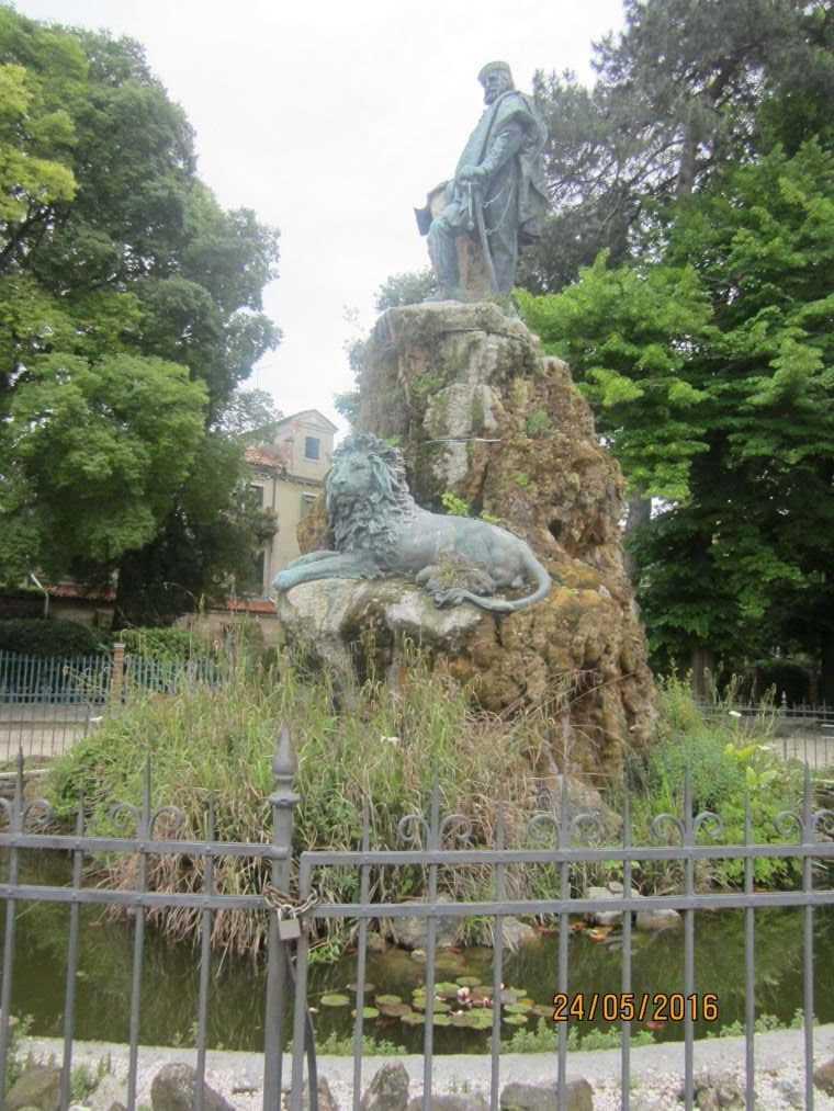 Венеция. Памятник Гарибальди