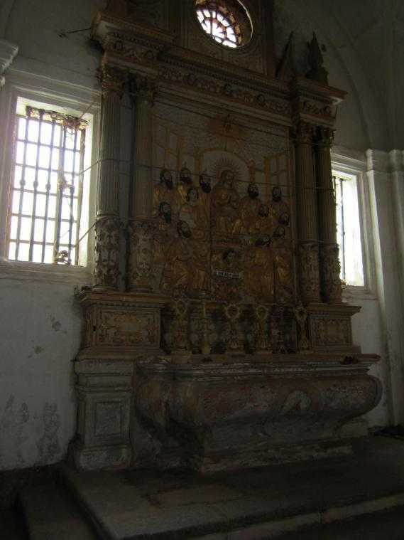Часовня Девы Марии Жизни. Собор Св. Екатерины (Гоа)