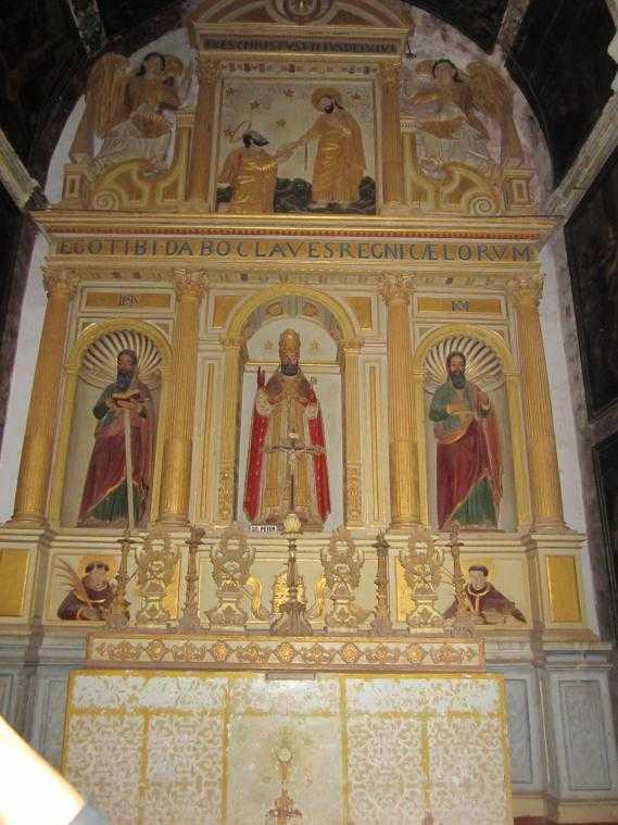 Собор Св. Екатерины (Гоа). Часовня Девы Марии и Добродетелей