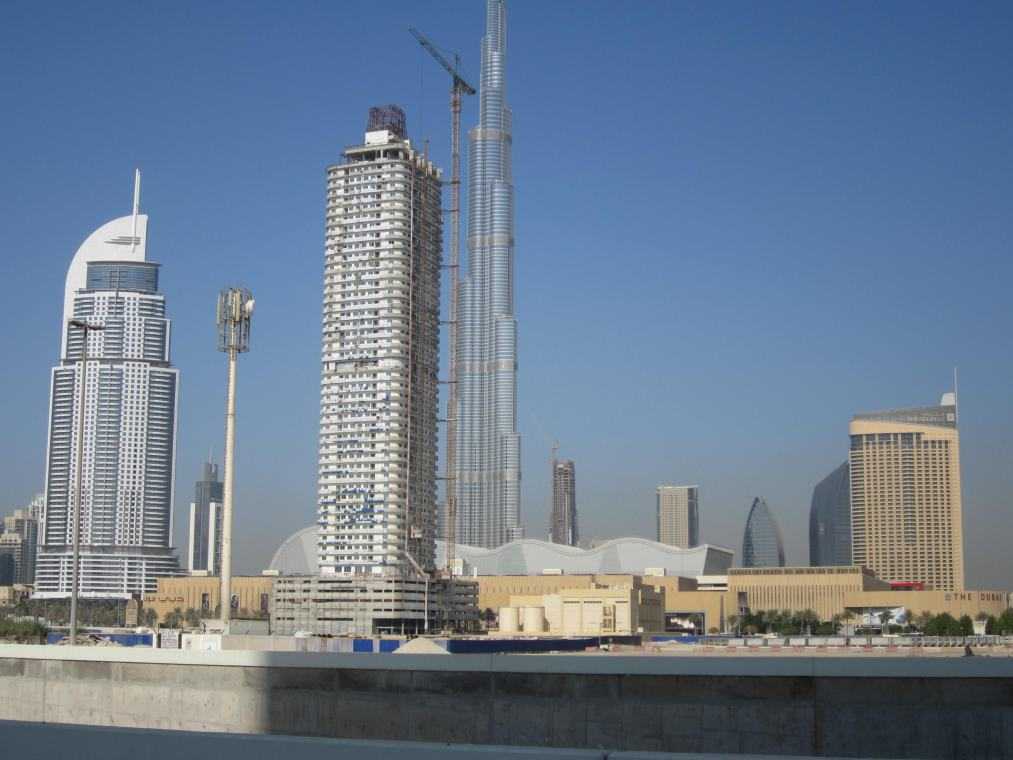 Dubai. Downtown