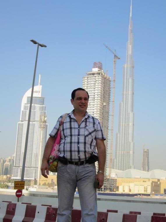 Дубай. Из отеля на пляж