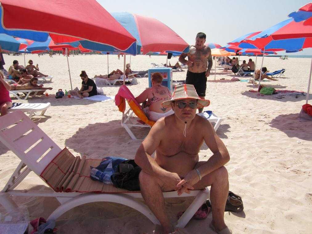 Пляж Jumeirah. Дубай
