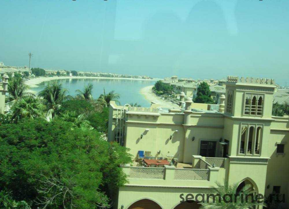 Дубай. Остров Пальма Джумейра (Jumeirah)