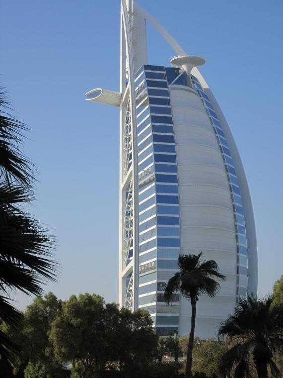Дубай. Отель Burj Al Arab