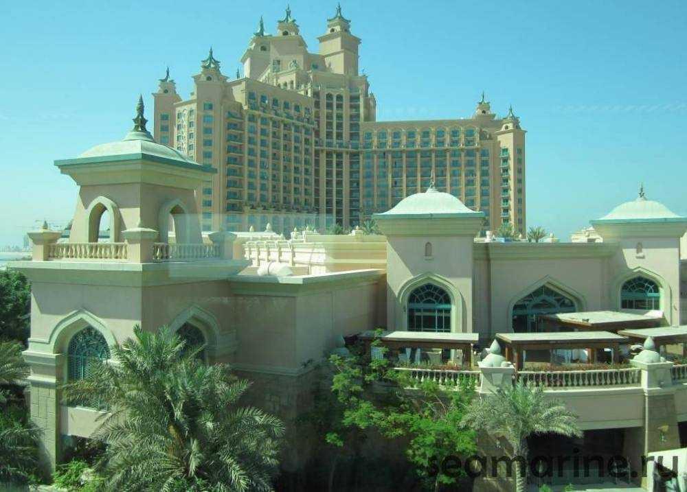 Дубай. Остров Пальма Джумейра. Отель Atlantis