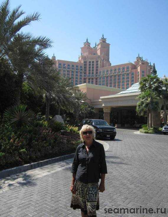 Дубай. Jumeirah. Atlantis The Palm