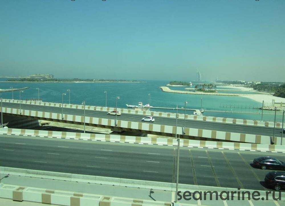 Дубай. Остров Пальма Джумейра