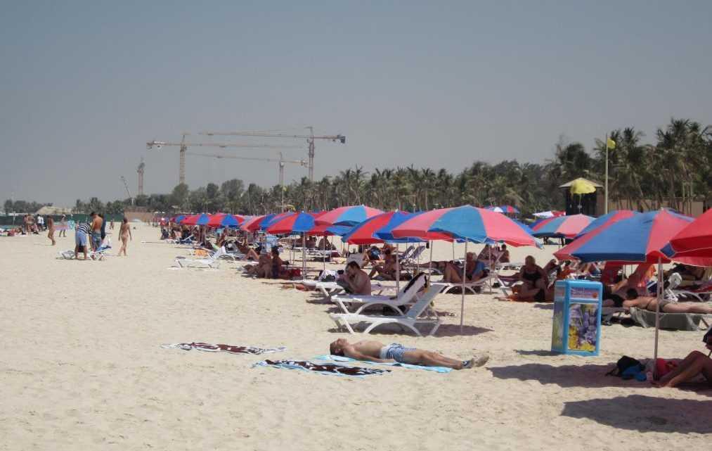 Пляжный отдых в Дубай