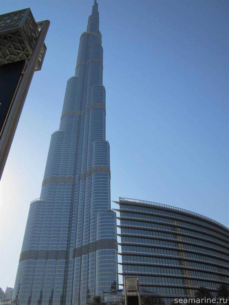 Дубай, район Downtown. Бурдж-Халифа