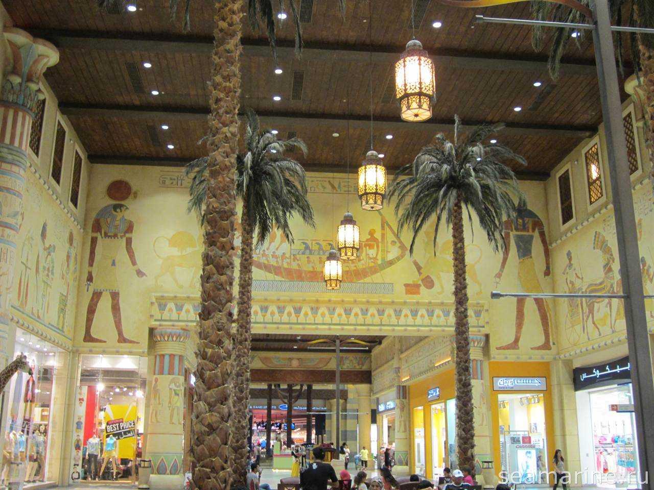 Ibn Battuta Mall. Египет
