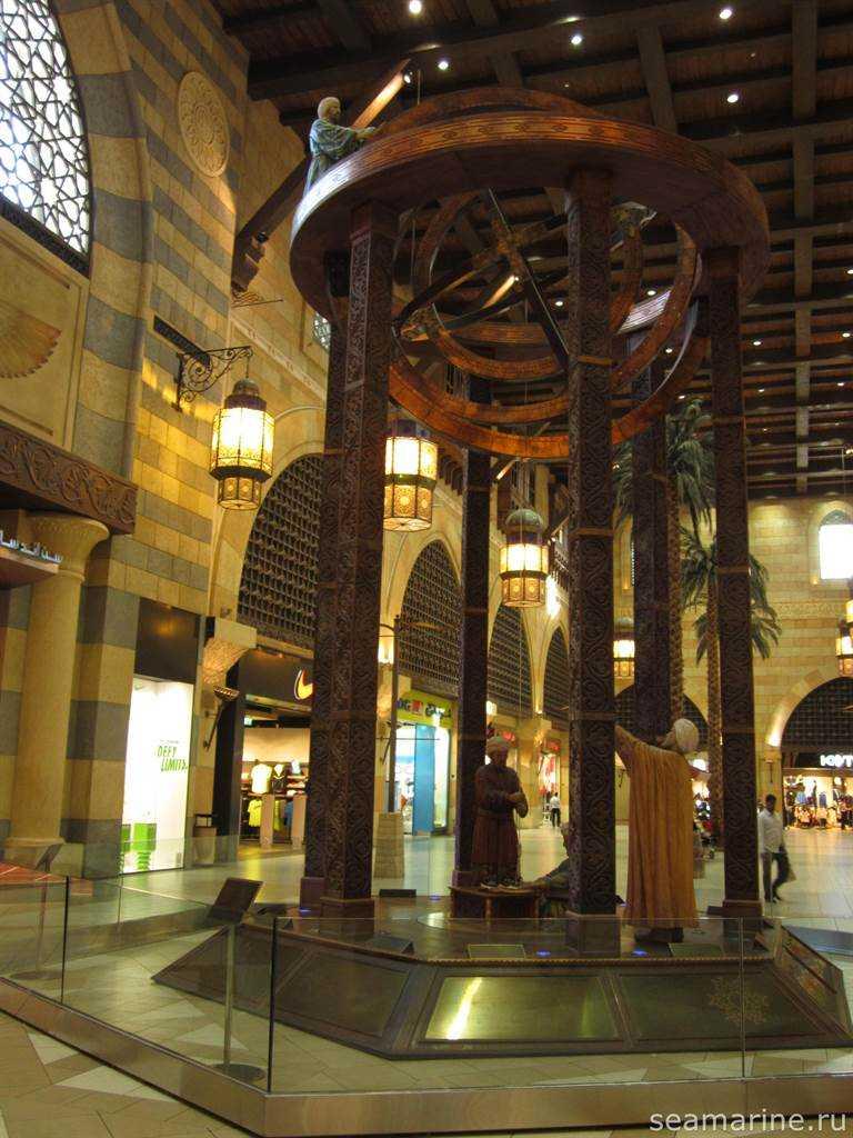 Дубай. Ibn Battuta Mall. Египет