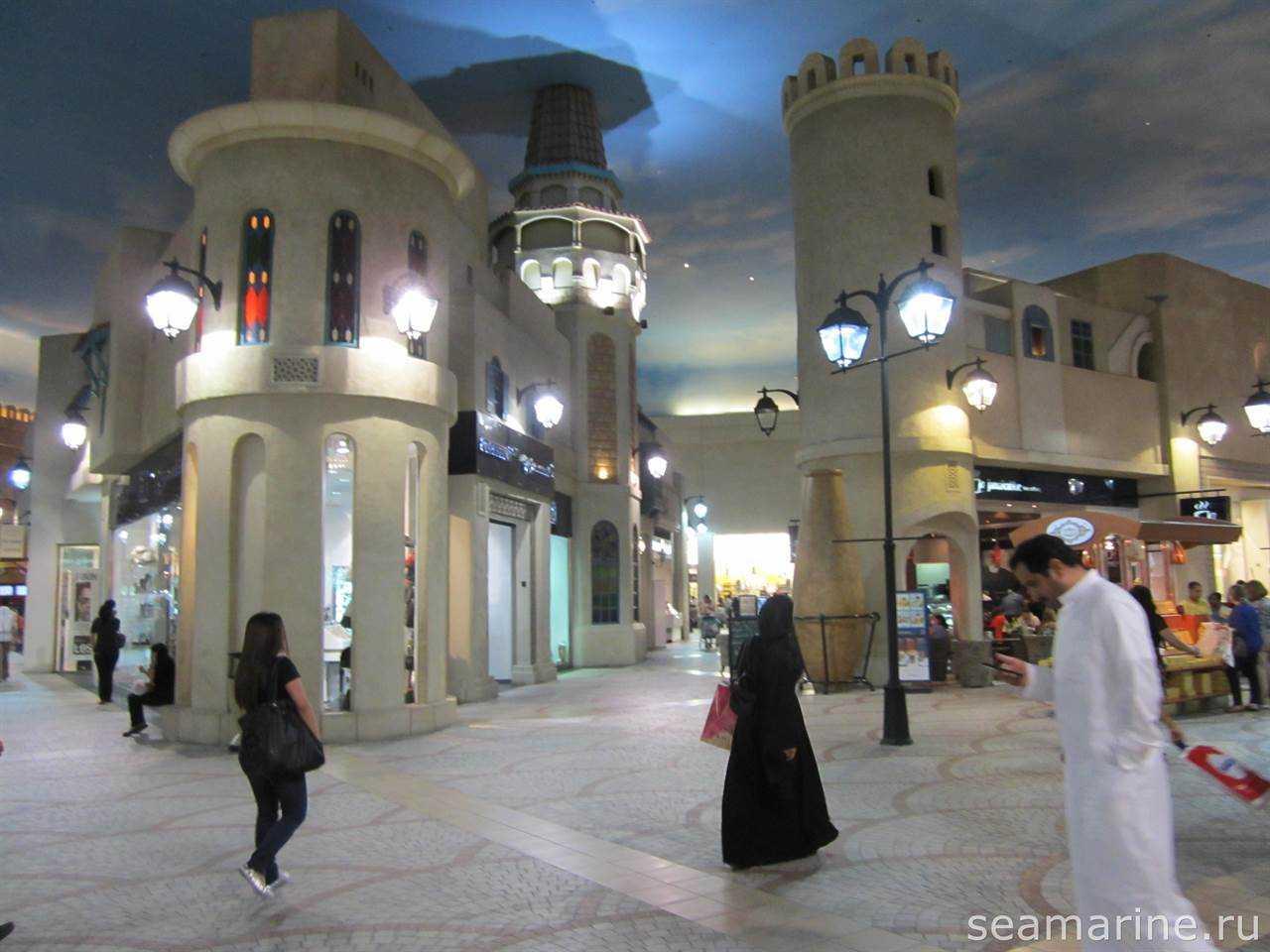 Ibn Battuta Mall. Тунис