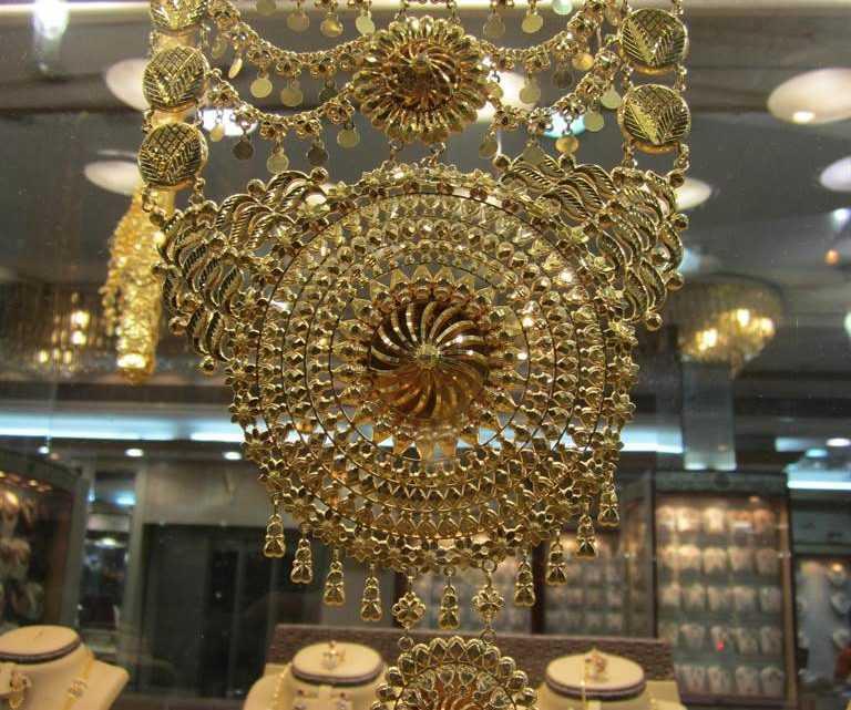 Золотой рынок Дубай (Dubai Gold Souk)