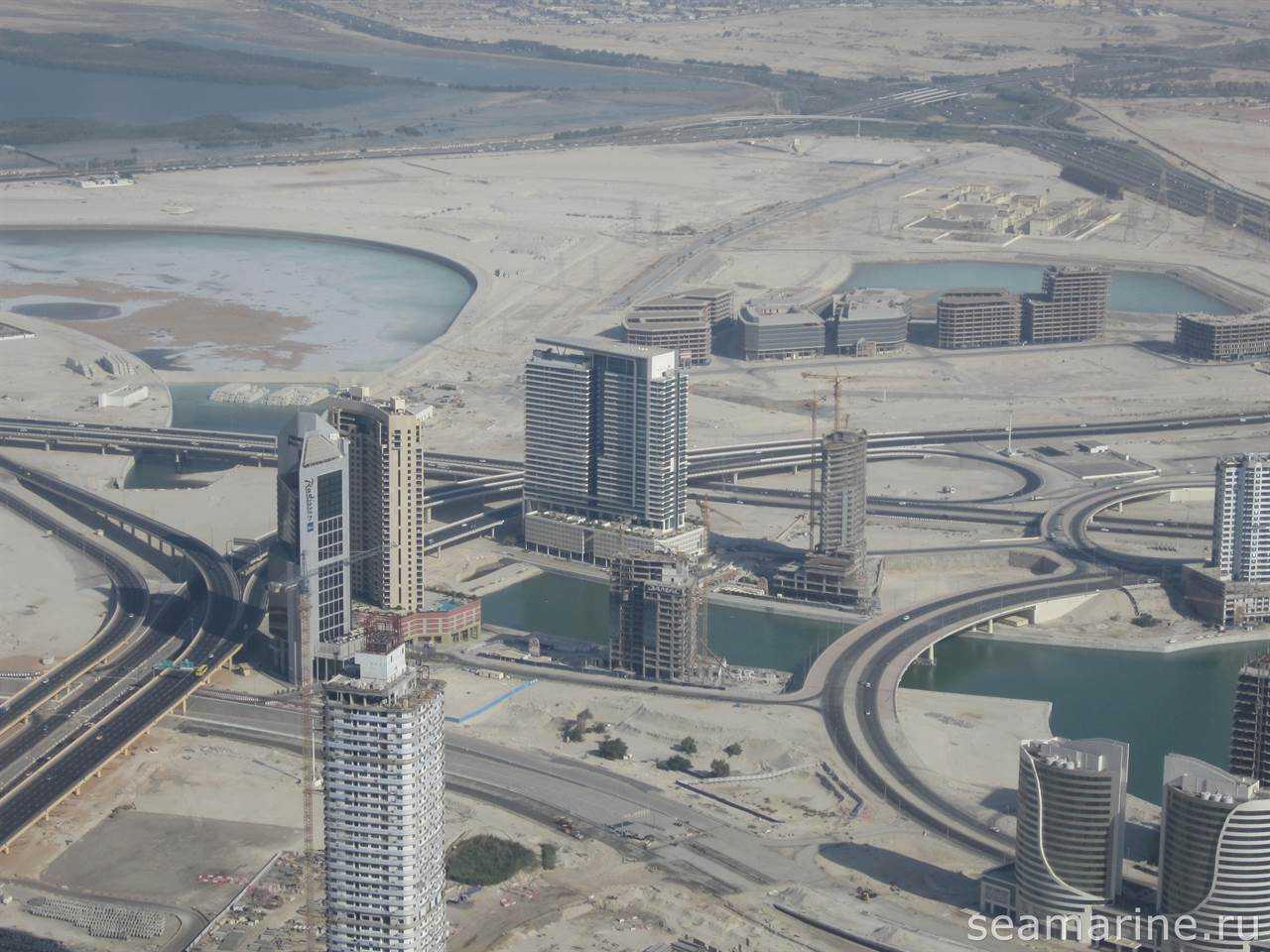Вид на отель с Бурдж Халифа