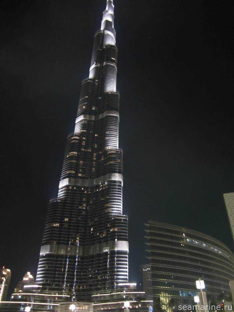 Dubai. Бурдж-Халифа