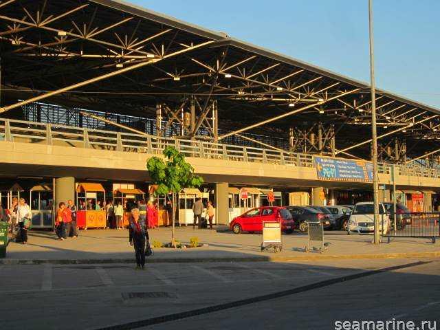 Греция. Аэропорт Салоники