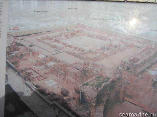 Достопримечательности Салоники. Дворец Galerius