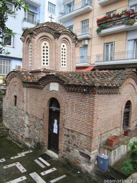 Салоники. Церковь Панагия Халкеон
