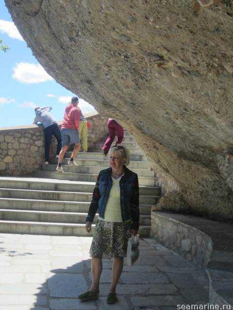 В монастырь Метеоры