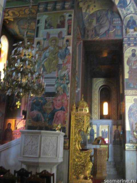 В соборе Святого Григория Паламы