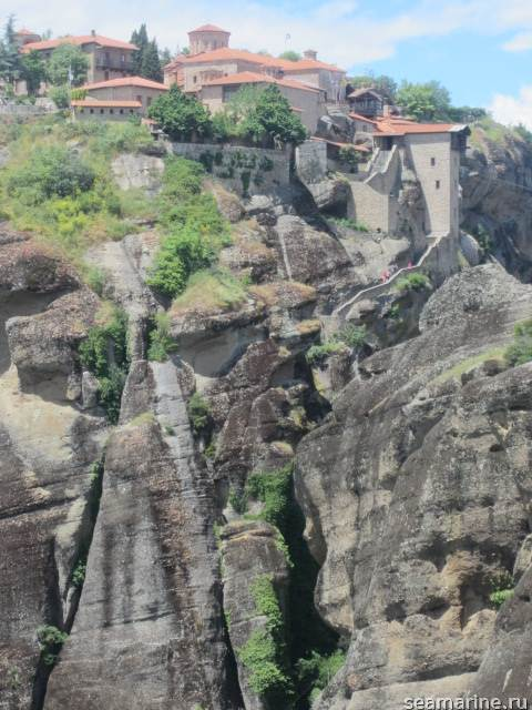 Вид из Монастыря Варлаам