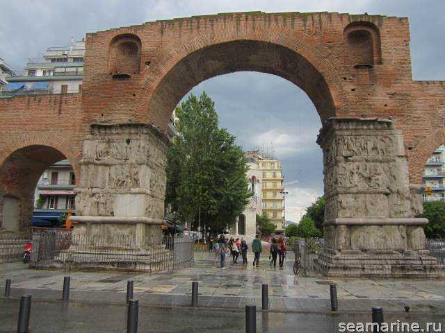 Достопримечательности Салоники. Arch of Galerius