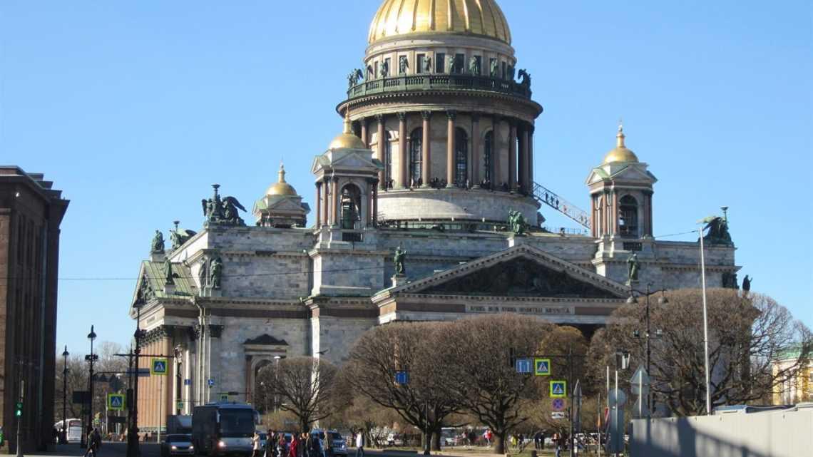 Путешествие в Санкт-Петербург.