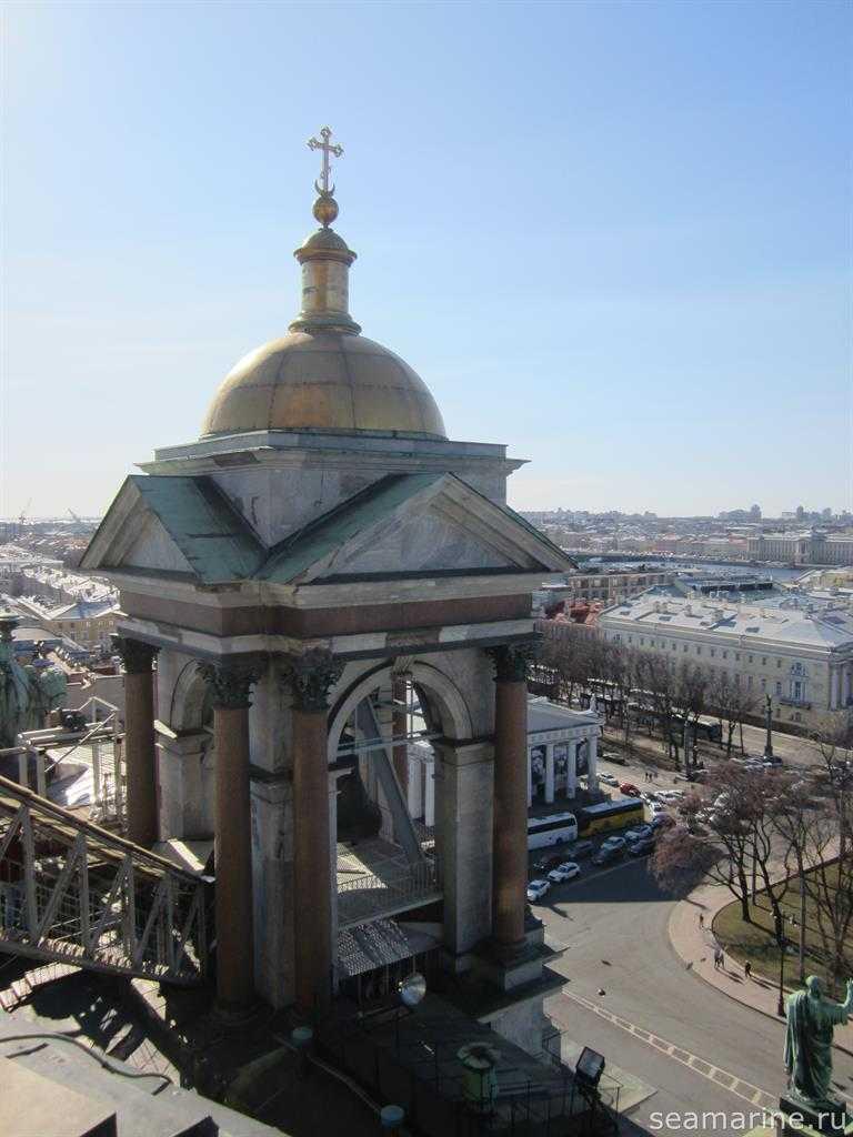 Путешествие в Санкт-Петербург. Вид с Исаакиевского собора