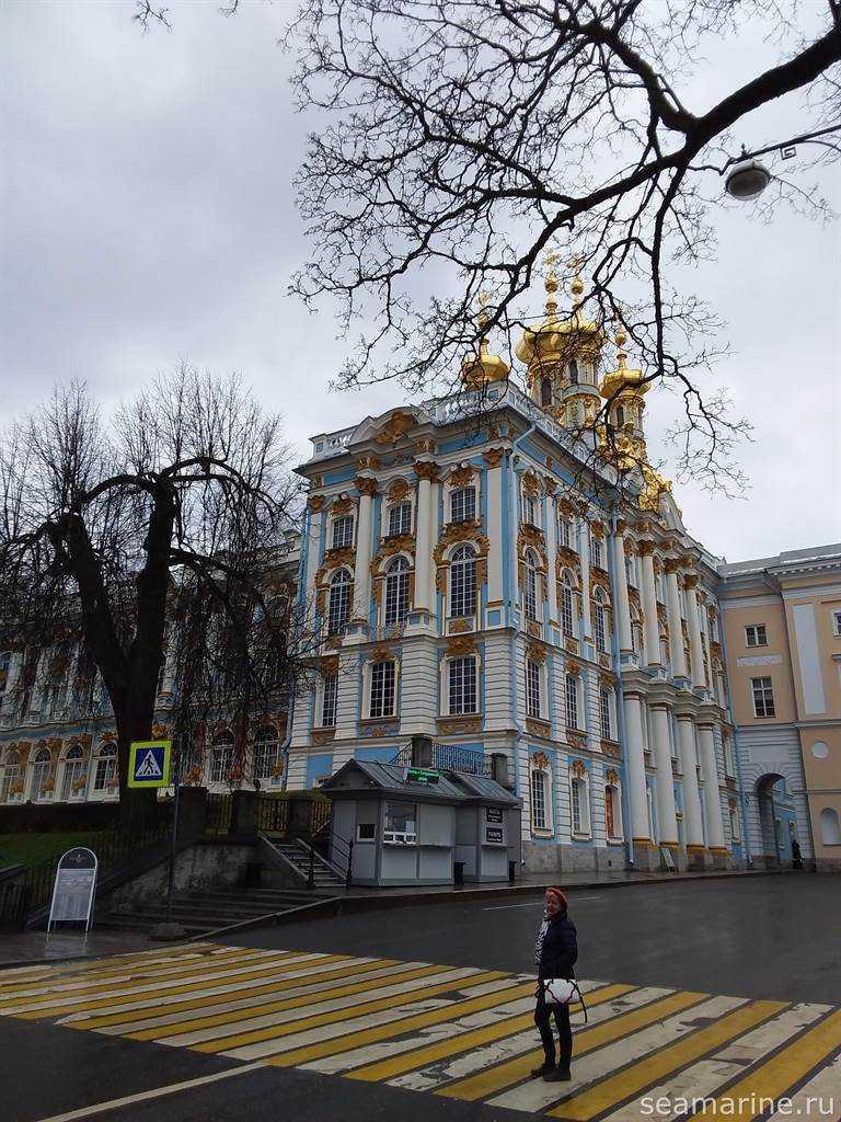 В Екатерининский дворец