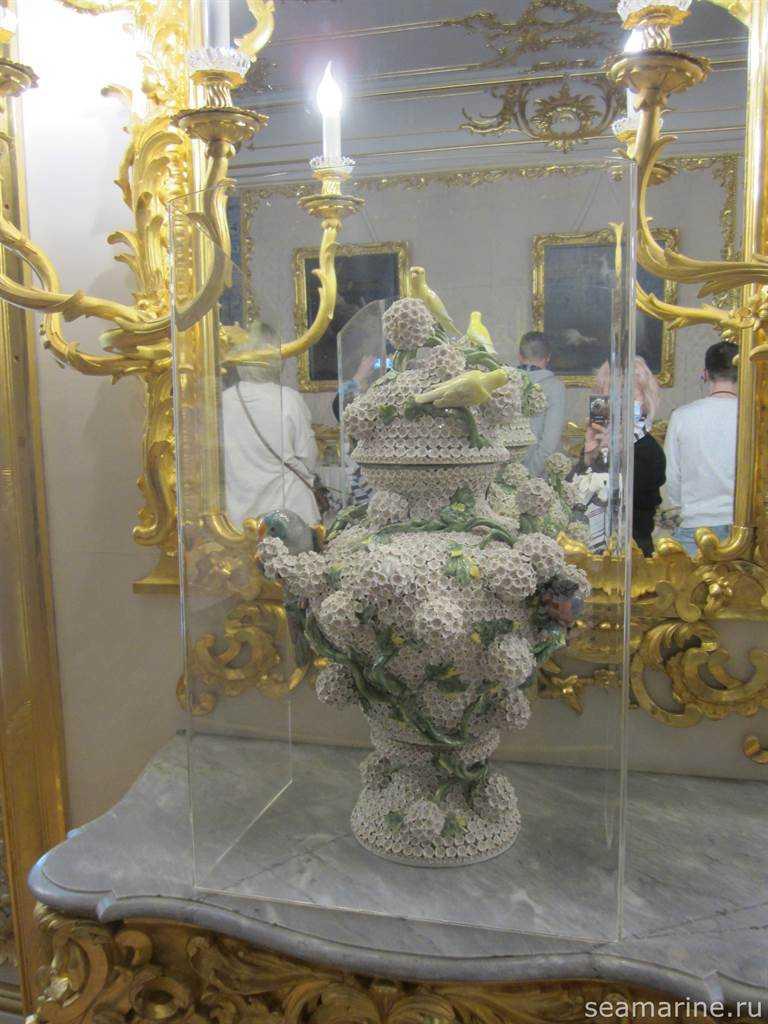 В Белой парадной столовой. Екатерининский дворец