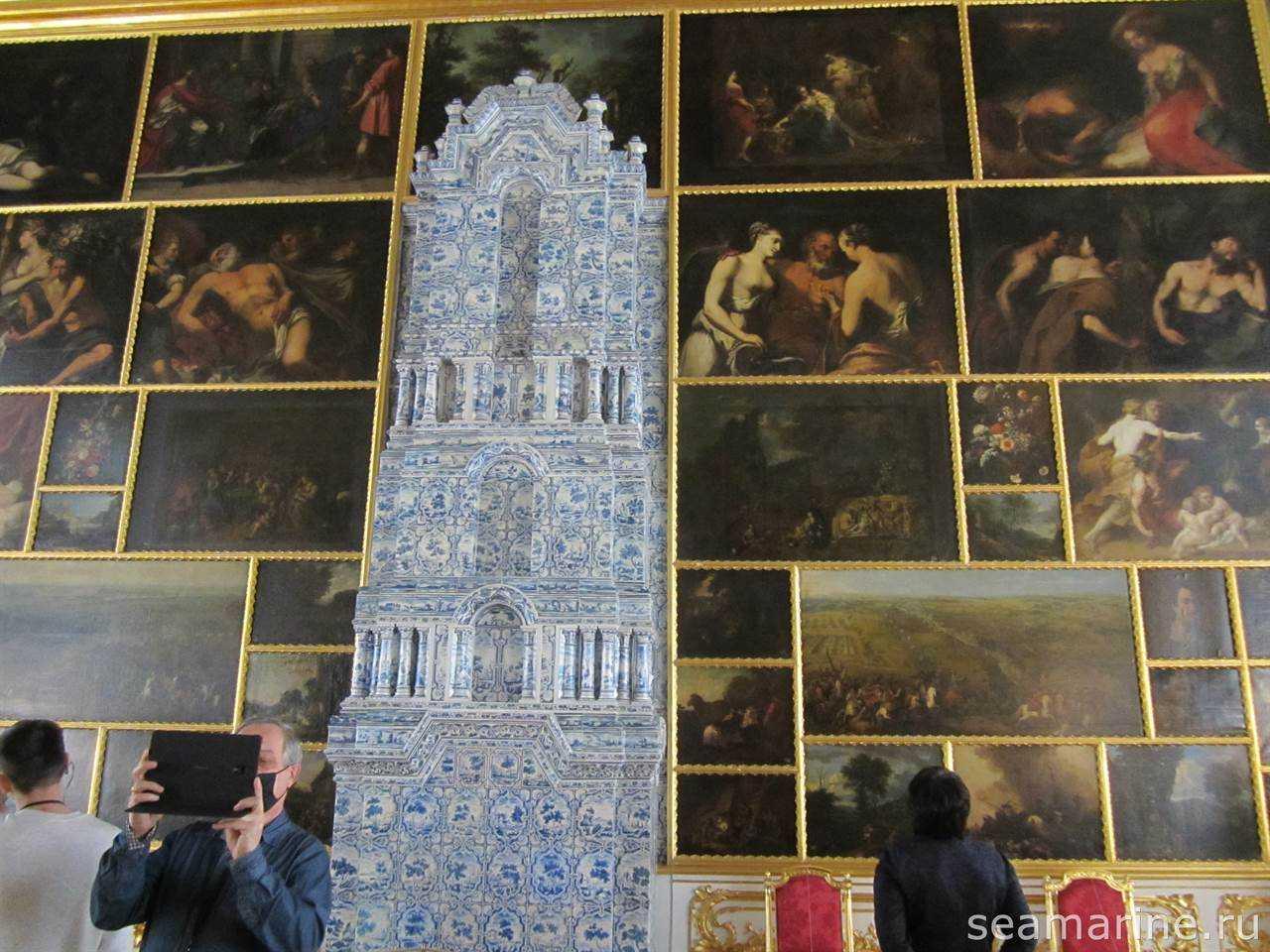 Екатерининский дворец. Картинный зал